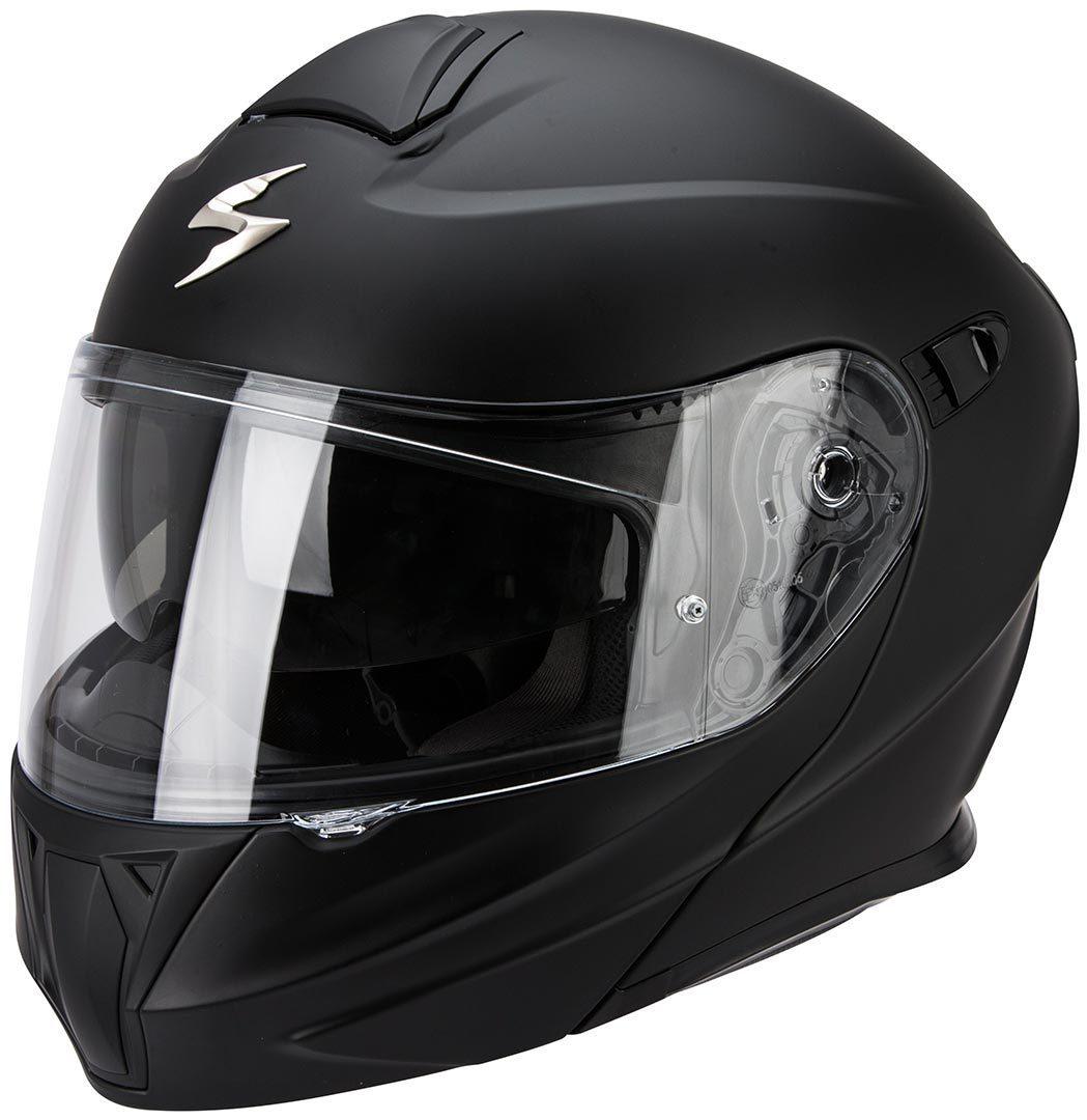 5890743300f Scorpion EXO-920 Solid černá matná Výklopná helma na motorku ...