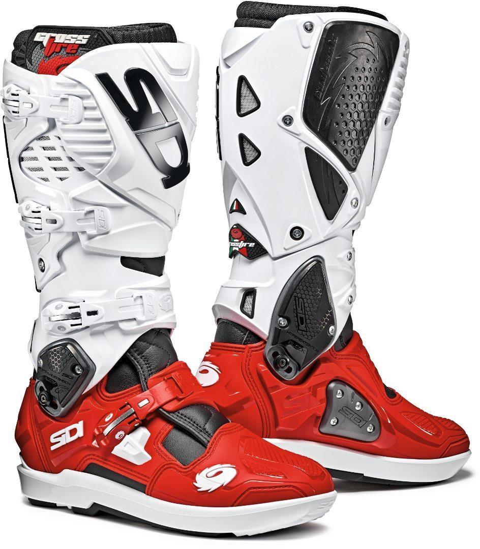 Sidi Crossfire 3 SRS Black red white  6f58dbde57