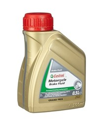 Castrol Motorcycle Brake Fluid DOT3/DOT4 500ml