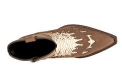 Mayura K425 Kožené boty na chopper  811e2adb4d