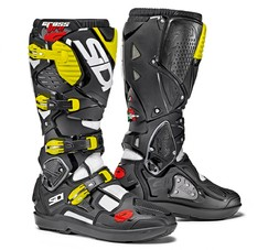 Sidi Crossfire 3 SRS White/Black/Yellow vel.44