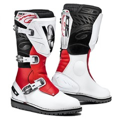 Sidi Trial Zero 1 White/Red